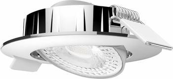 Megatron Slimo MT76761 LED-Einbauleuchte 6W Warm-Weiß Silber