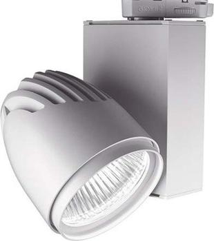 LTS Licht & Leuchten LTS Licht&Leuchten LED-Anbaustrahler BIXX 103.40.35.2 si silber 4000K 35 Bixx 1