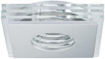 Paulmann CombiSystems Spot Layer starr, Aluminium gebürstet Glas, eckig