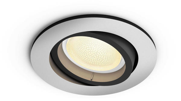 Philips Hue White & Color Ambiance Centura rund Bluetooth Aluminium (50451/48/P7)