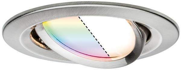 Paulmann SmartHome Zigbee LED Nova Plus 2,5W RGBW Eisen gebürstet (929.64)
