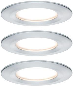 Paulmann LED Nova rund Set 3x6,5W Aluminium gedreht (934.62)