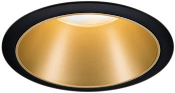 Paulmann LED Cole 6,5W 2700K Stufendimmer schwarz gold (93403 )