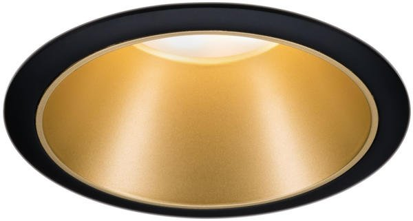 Paulmann LED Cole 6,5W 2700K Stufendimmer schwarz/gold (934.03)