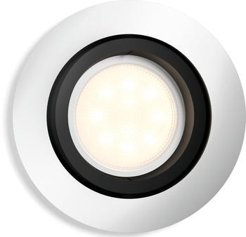 Philips Hue White Ambience Milliskin quadratisch Erweiterung Bluetooth Alu (50421/48/P9)