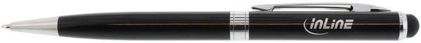 InLine Stylus für Touchscreens & Kugelschreiber schwarz