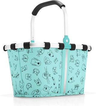 Reisenthel Carrybag XS Kids cats and dogs mint