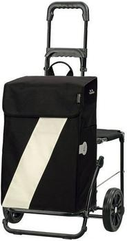 Andersen Komfort Shopper Vika black/white