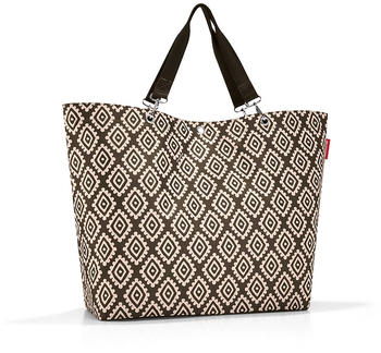 reisenthel-shopper-xl-diamonds-mocha