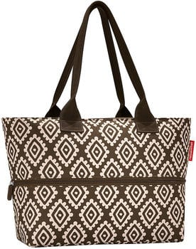 Reisenthel Shopper e¹ diamonds mocha