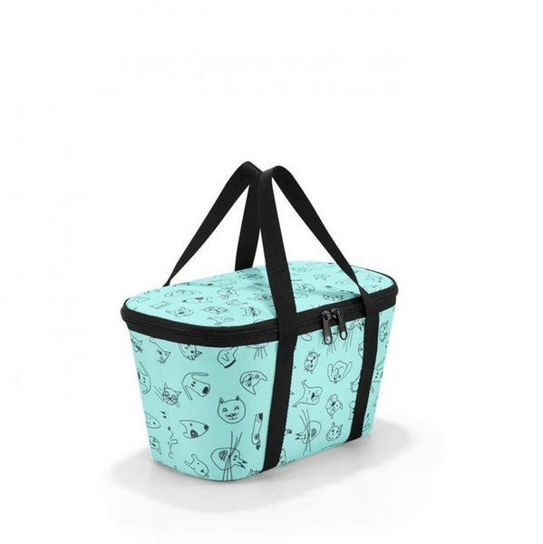 Reisenthel Coolerbag XS Kids cats and dogs mint