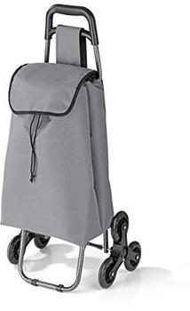 EASYmaxx Einkaufstrolley Treppensteiger grau (00580)