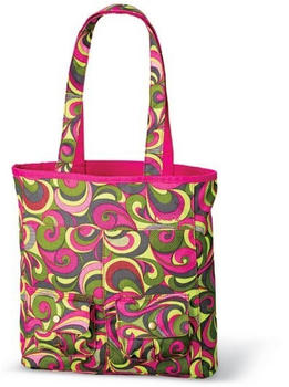 Dakine Kate Shopper pink swirls/hot pink
