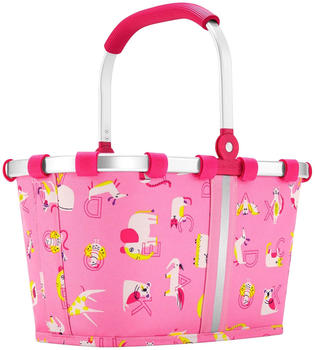 Reisenthel Carrybag XS Kids abc friends pink