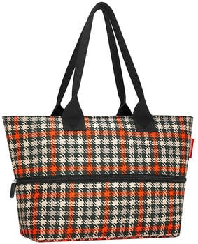 Reisenthel Shopper e1 glencheck red
