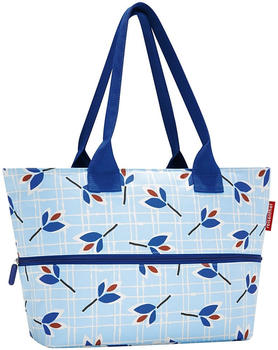 Reisenthel Shopper e¹ leaves blue