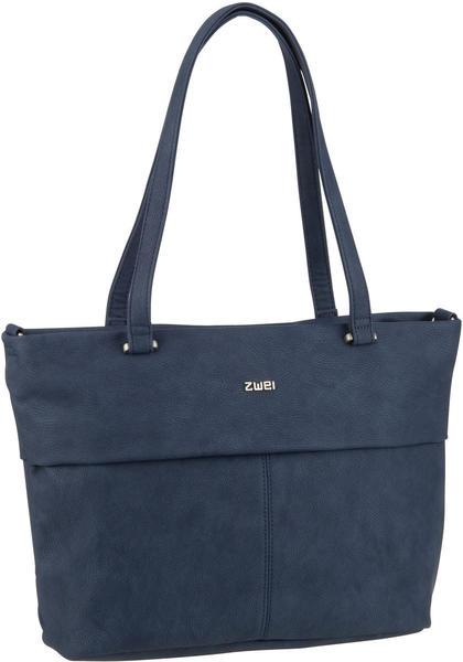 Zwei Shopper Mademoiselle.M M15 nubuk-blue