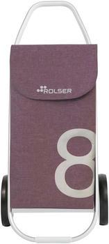 rolser-tweed-8-mauve