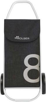 rolser-tweed-8-black