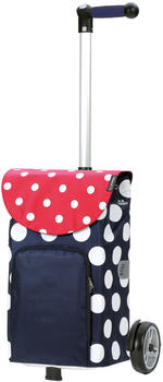 Andersen Unus Shopper Dots blue