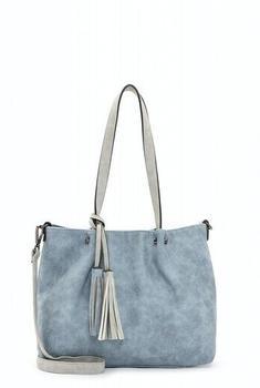 Emily & Noah Shopper Bag In Bag Surprise (330,538) sky lightgrey 538