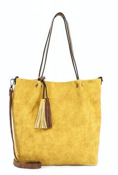 Emily & Noah Shopper Bag In Bag Surprise (331,482) yellow cognac 482