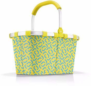 Reisenthel Carrybag signature lemon