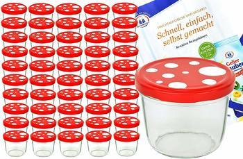 MamboCat Sturzglas 230 ml (50 Stk.) Fliegenpilz