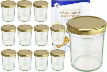 MamboCat Sturzgläser 230 ml gold (12 Stk.)