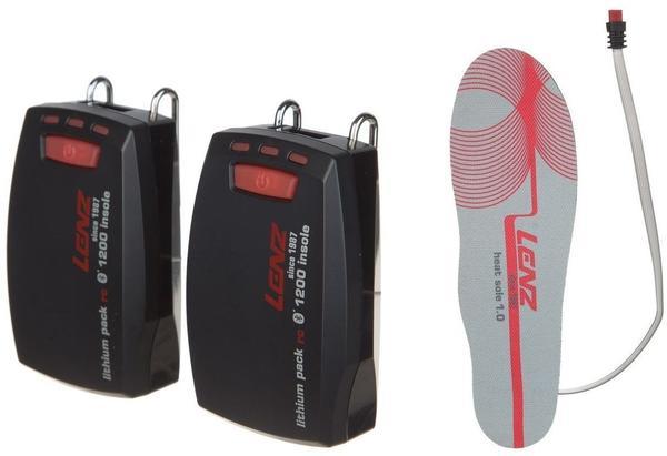Lenz Lithium Pack Insole 1200 und Heat Sole 1.0 Set
