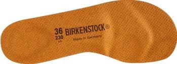 Birkenstock Fussbett-Sohle braun