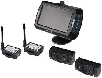 Pro-User Funk-Rückfahrvideosystem mit 2 Kameras (16243)