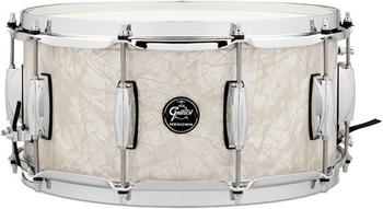 """Gretsch Renown Maple Snare 6.5"""" x 14"""" Vintage Pearl"""