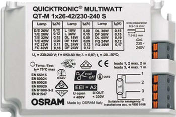 Osram Vorschaltgerät QTP-M 1x26-42
