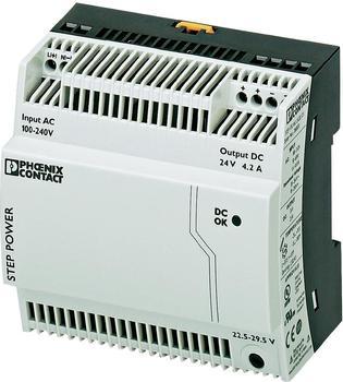 Phoenix Contact Hutschienen-Netzteil STEP-PS/1AC/24DC/4.2