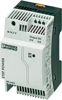 Phoenix Contact Hutschienen-Netzteil STEP-PS/1AC/12DC/3