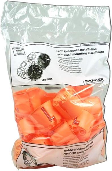 Kaiser 1-fach orange (9063-01)