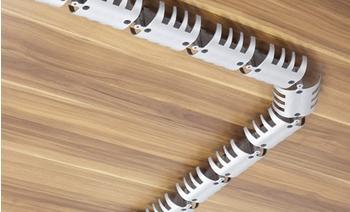 Hammerbacher 1,2m x 90mm silber (CKHO_A)