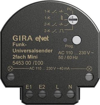 Gira Funk-Universalsender Mini 2-fach (545300)