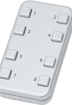 Eltako Funk-Minihandsender aluminium (FMH8-al/an)