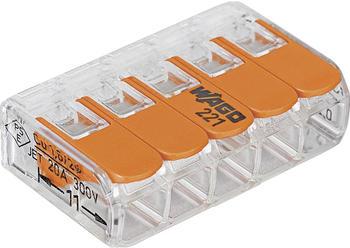 Wago Compact Verbindungsklemme 5polig