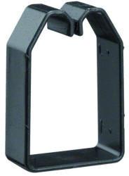 Hager 40 mm schwarz (B600403)