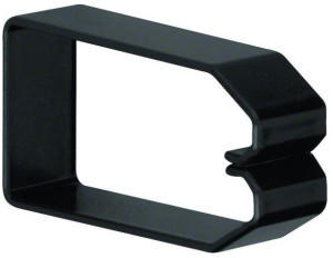 Hager 40 mm schwarz (B800403)
