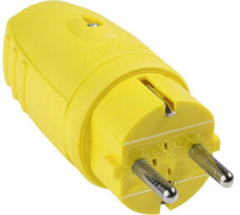 AS Schwabe 62403 Schutzkontaktstecker Gummi 230V