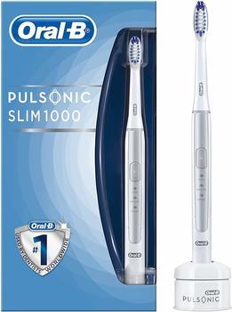 Oral B Pulsonic Slim 1000 Schallzahnbürste Silber/Weiß