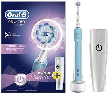 Oral B Oral-B Pro 750 Sensi Ultrathin Adult Blau