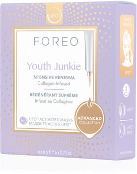 Foreo Youth Junkie UFO-Activated Mask 6 pack