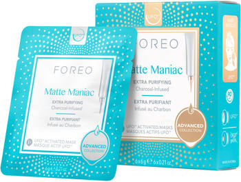 foreo-matte-maniac-ufo-activated-mask-6-pack