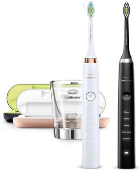 Philips Sonicare DiamondClean HX9392/39 Elektrische Zahnbürste Adult Ultraschall-Zahnbürste Schwarz,