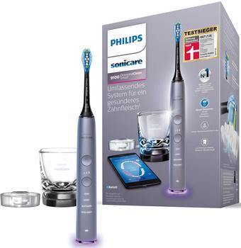 Philips HX 9901/43 Elektrische Schallzahnbürste, Grau/Silberfarben